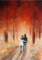 couleur d'automne (50X70)