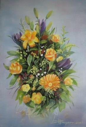 fleur  (55X37)