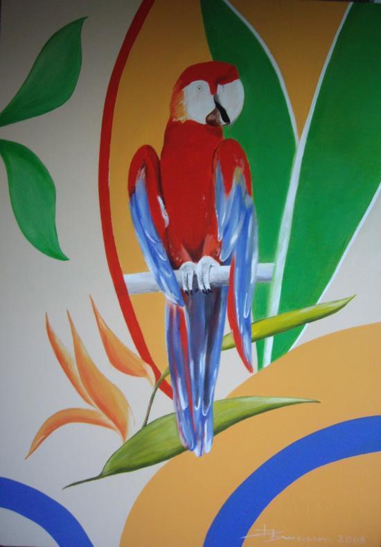 perroquet (65X90)