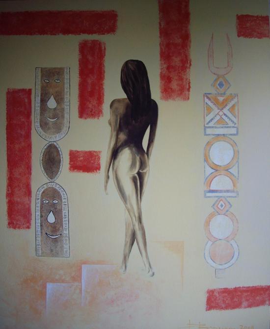 sensualité africaine (82X100)