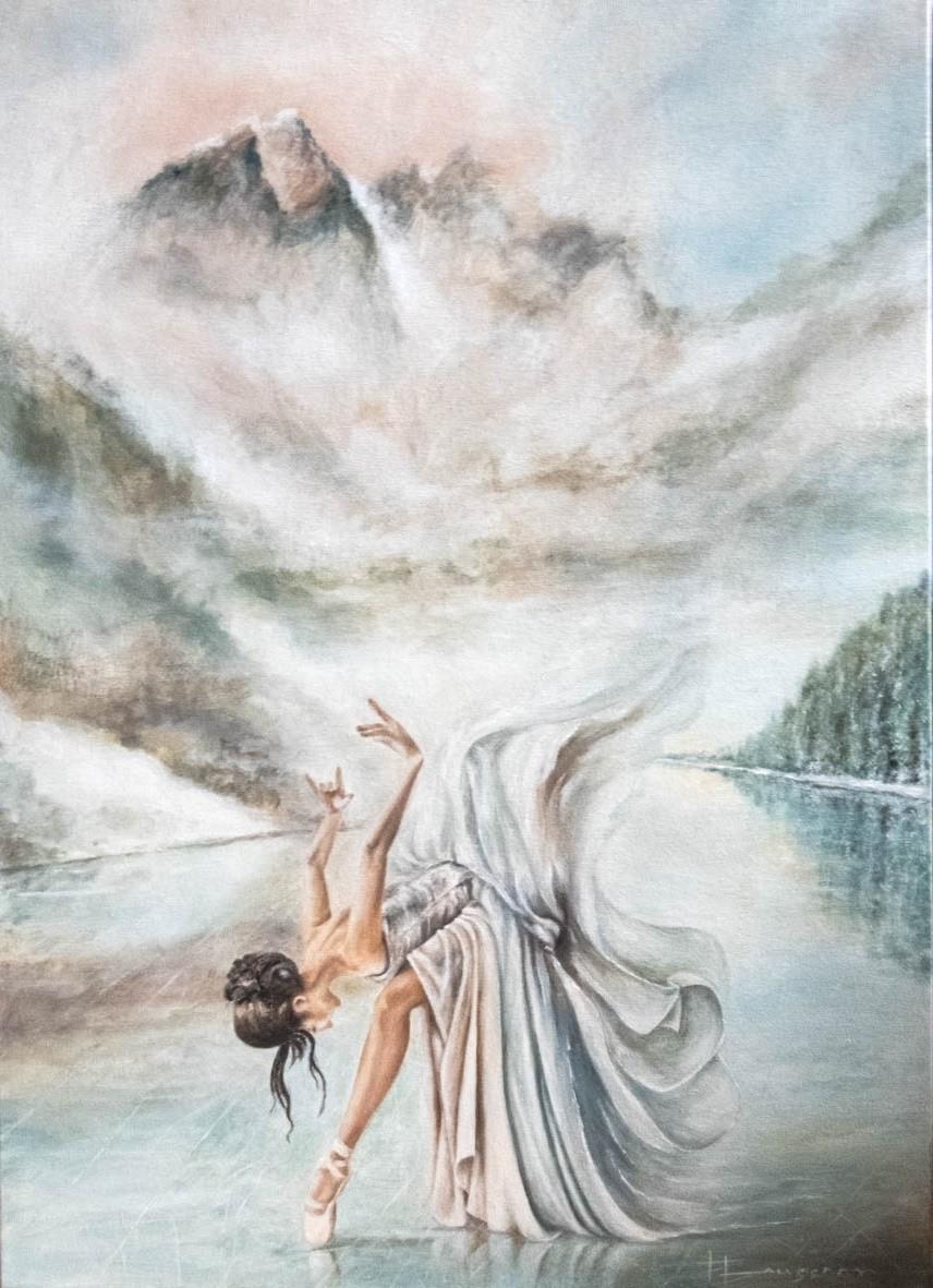 La danseuse et le lac