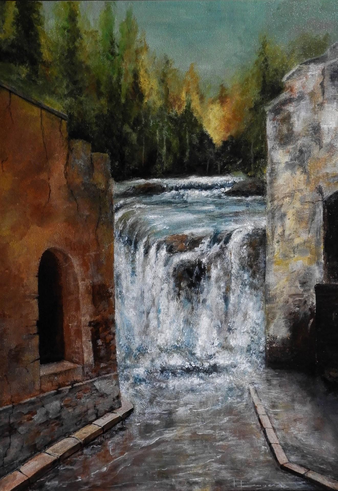 ruelle et cascade