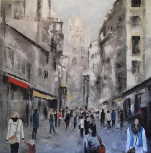 Montmartre  (80X80)