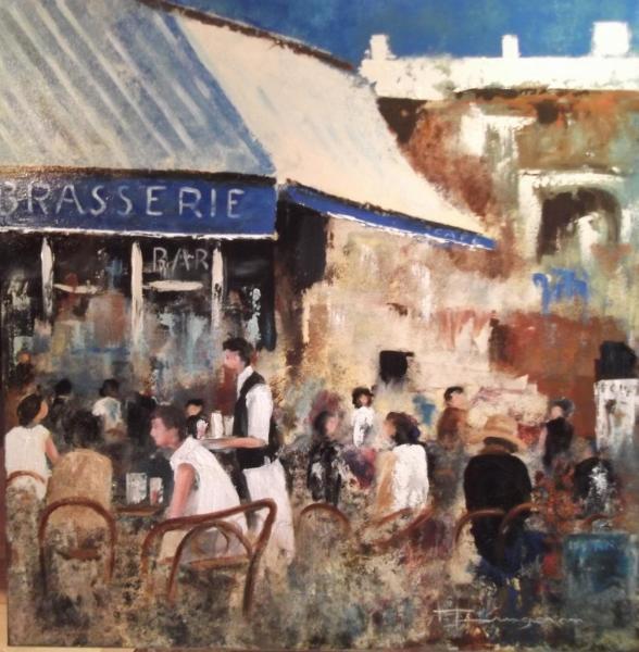 scene de terrasse 1 (80X80)